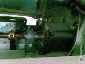 Трехфазный шаговый двигатель