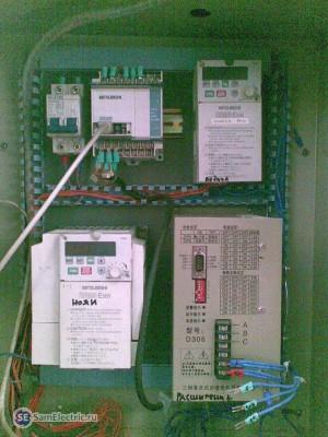 Электронный шкаф на компонентах Mitsubishi Electric
