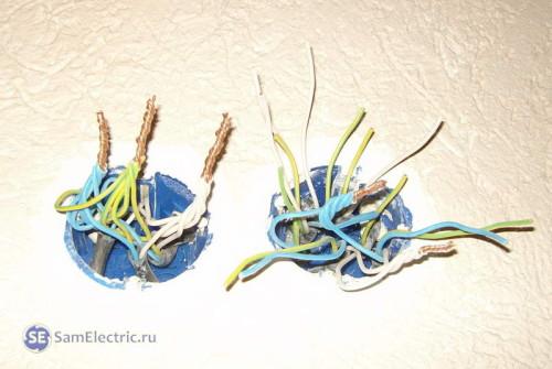 Соединение проводов пайкой при электромонтаже
