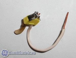 Клеммник Ваго со вставленными проводами 2