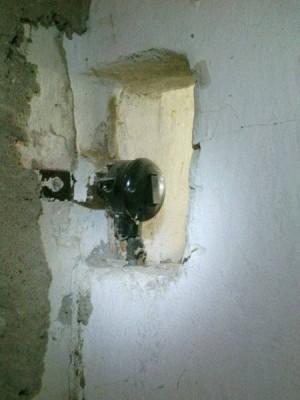 Выключатель между комнатами