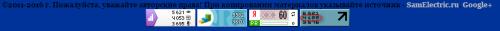 Посещаемость блога СамЭлектрик.ру