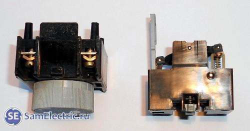 ПВЛ-1 в разобранном виде, вид сбоку