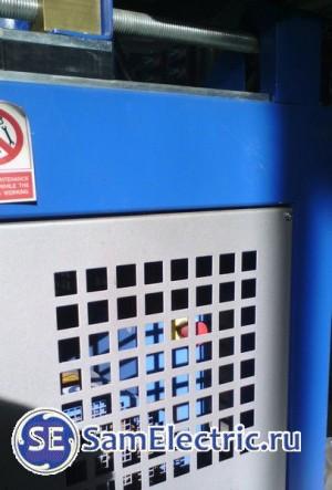 Вариант установки аварийного выключателя