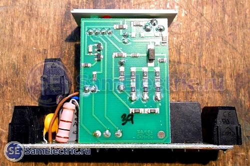 Zamel CKM-01. Внутреннее устройство