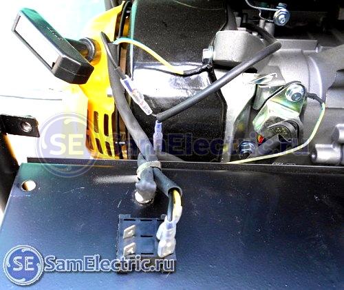 3_ электросхема Huter DY3000L _выключатель работы