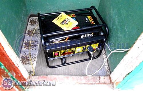 7_генератор подключен и установлен