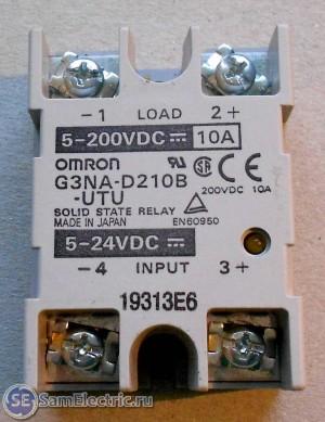 SSR OMRON DC-DC твёрдотельные реле постоянного тока