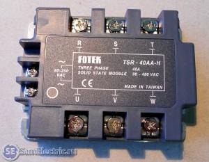 Fotek 3 phase 40A