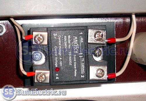 Применение в климатической камере 40А