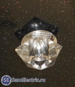 Точечный светодиодный светильник в натяжном потолке