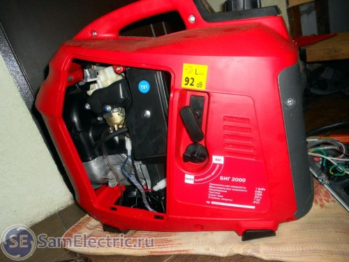5 Разбираем генератор