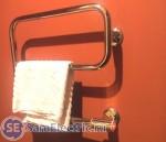 Показано подключение электрического полотенцесушителя