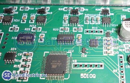 Контроллер и электронный гироскоп