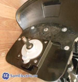 Устройство и ремонт китайского сигвея, фото. Снято колесо