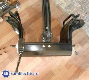 Устройство и ремонт китайского сигвея, фото. Сигвей со снятыми колесами