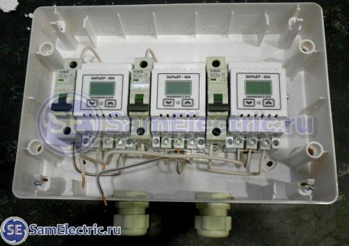 Процесс сборки электрощита 1