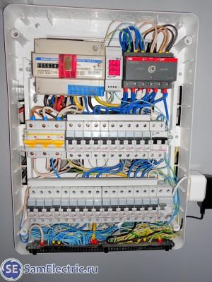 2 - внешний вид электрощитка