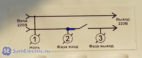 Правильная схема подключения