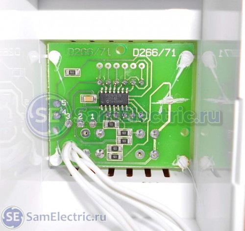 Автомат защиты Барьер. Контроллер PIC16F-676