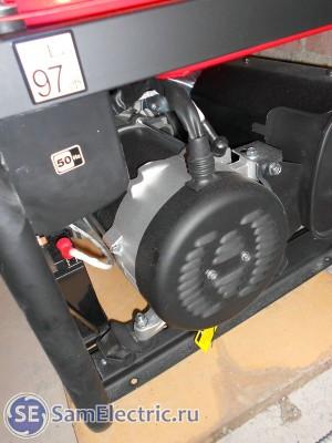 Электрический стартер для автозапуска
