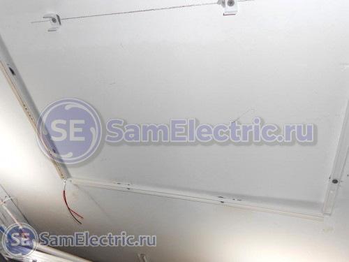 Монтаж ленты на потолок