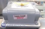 Три фазы = линейное напряжение 380 Вольт, Одна фаза = фазное напряжение 220 Вольт