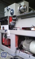 Капитальный ремонт токарного станка в процессе. Главный двигатель - двухскоростной