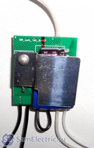 SU111-300. Вид платы изнутри, передняя сторона
