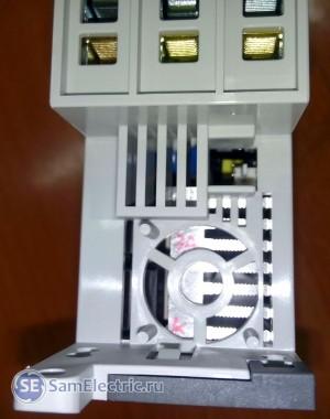 Опция - подключение вентилятора для охлаждения, в случае больших нагрузок