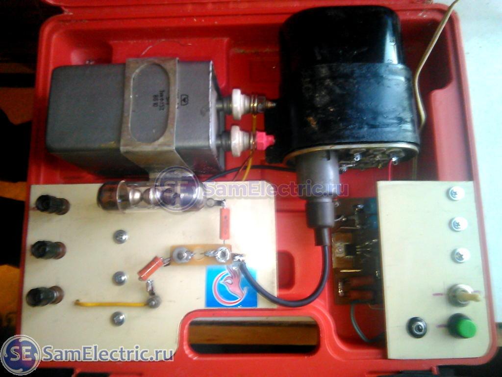 Схема прибора для поиска проводки фото 844