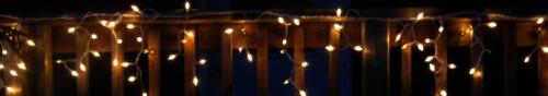 Гирлянда светодиодная бахрома, с нитями разной длины.