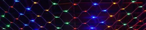 Светодиодная сеть для декоративного освещения. Цвет мульти.