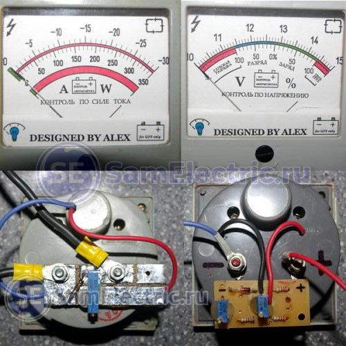 Стрелочные приборы для измерения тока и напряжения