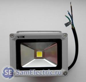 Светодиодный прожектор Leek 10 Вт - вид спереди