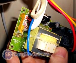 Силовая электронная плата настенного водонагревателя Thermex ID 80 H