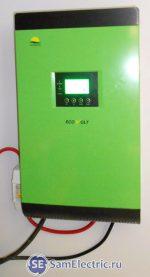 Инвертор Ecovolt - основа системы электропитания на солнечных батареях и аккумуляторах