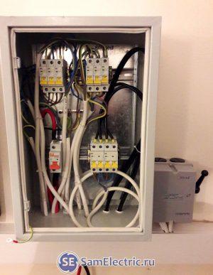 Электрощиток для подключения инверторов