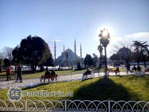 Султан-Ахмет, Голубая мечеть.