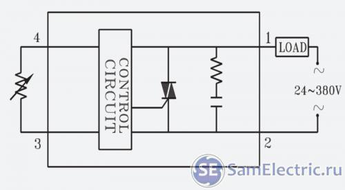 Управление переменным резистором