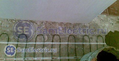 Самостоятельная укладка электрического теплого пола под плитку