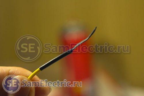 Фото 11 – Заделка запасных проводов