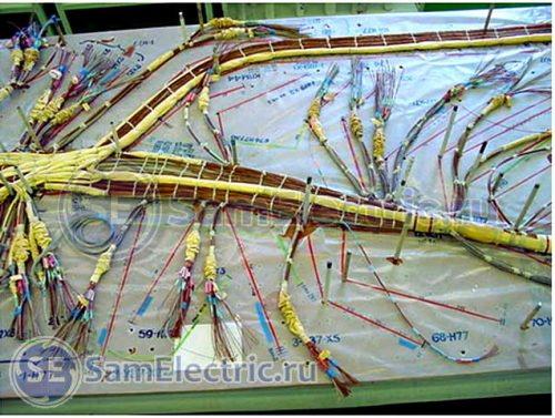 Фото 2 - Жгут на монтажном столе (www.knaapo.com)
