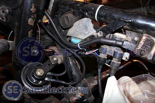 Фото 24 - новый электрический жгут установлен