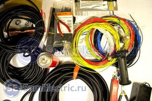 Фото 7 – Материалы и провода для производства жгутов