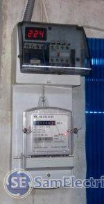 Схема автоматического переключения фаз от городской электросети и генератора с защитой от дурака