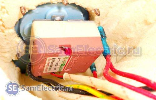 Ручной регулятор температуры в баке