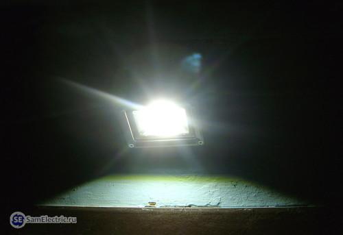 22_Прожектор в действии