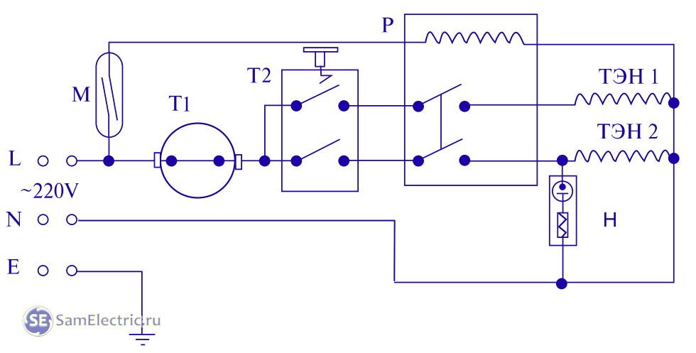 Водонагреватель thermex электрическая схема фото 750