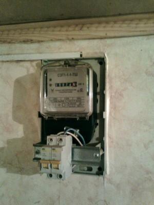Домашний электрический счетчик